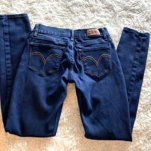 Levi's Jeans - Levi's 524 Dark Wash Skinny size 1 Jean